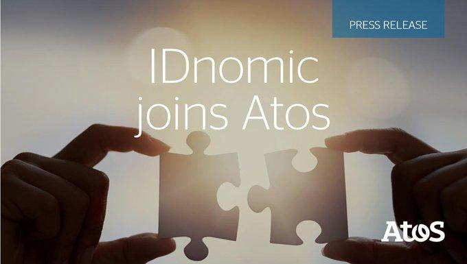We are delighted to welcome @IDnomic to the @Atos family.