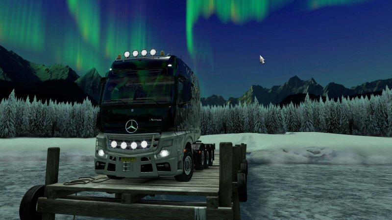Completed the 'Trade Connections - Sweden' event in Euro Truck Simulator 2