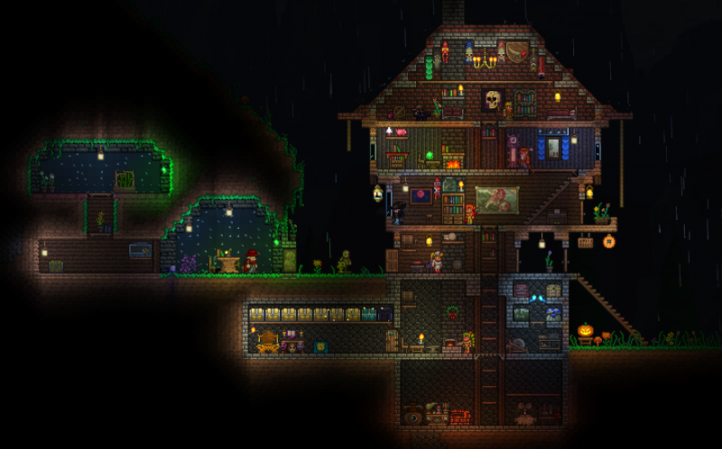 My Terraria build